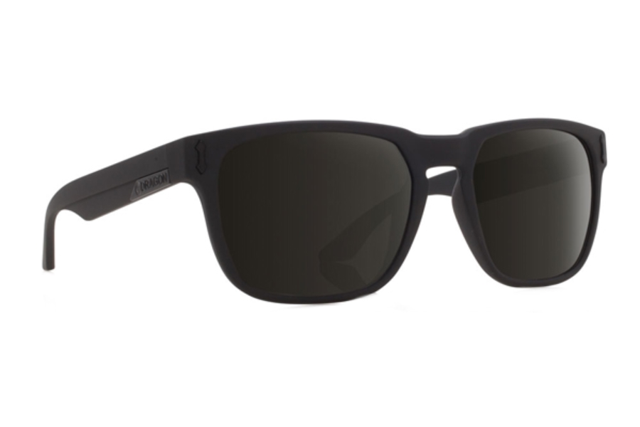 Dragon MONARCH Sunglasses in Matte Black/Grey