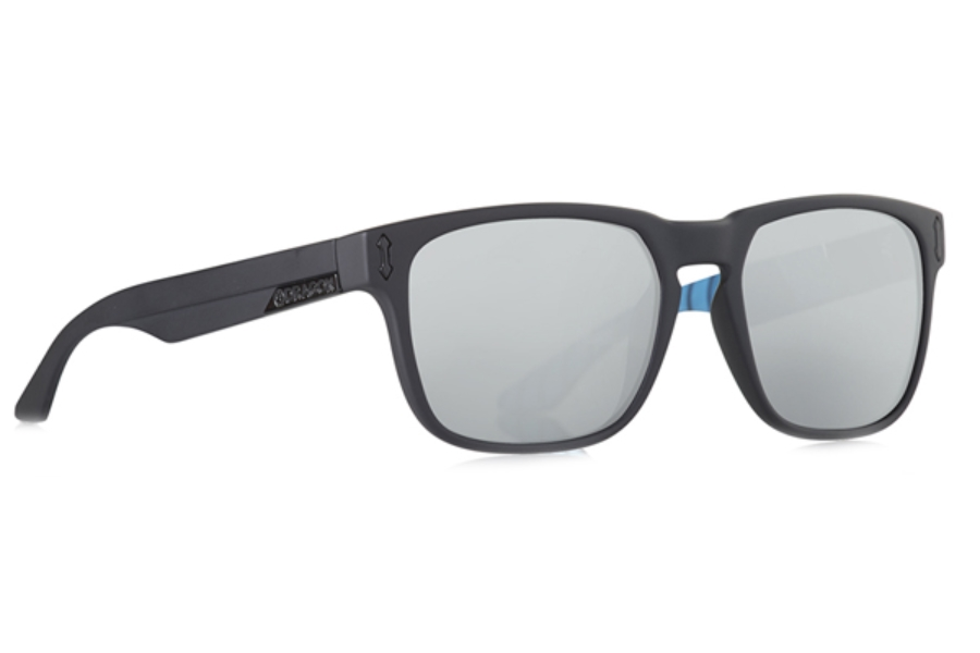 Dragon MONARCH Sunglasses in Jamie Matte Black/Pearol Ion