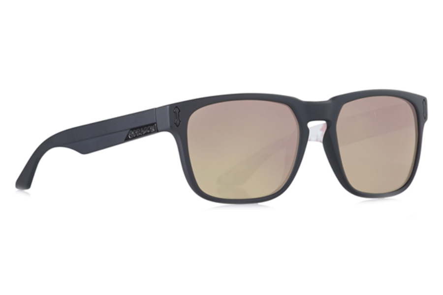 Dragon MONARCH Sunglasses in Iuna Matte Black/Rose Gold