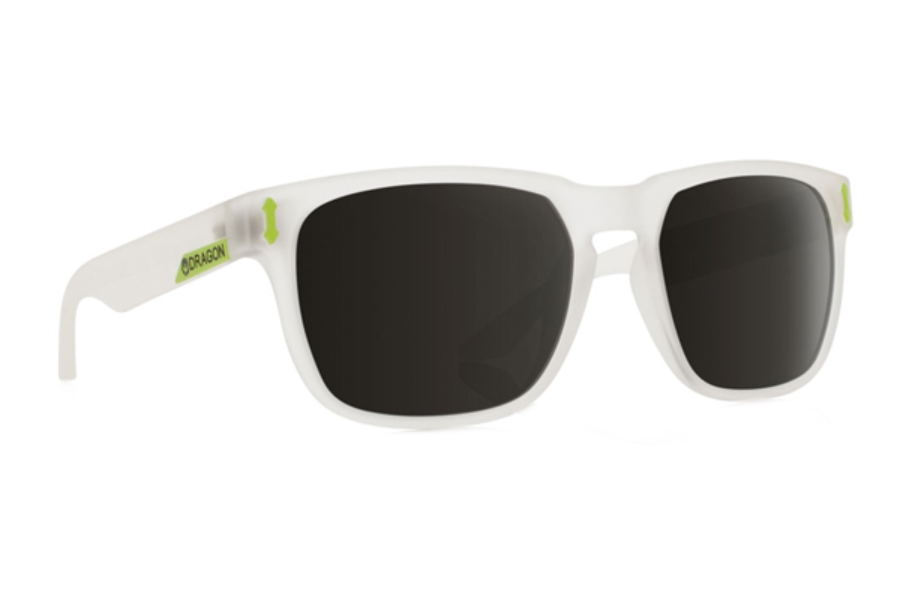 Dragon MONARCH Sunglasses in Matte Crystal/Grey