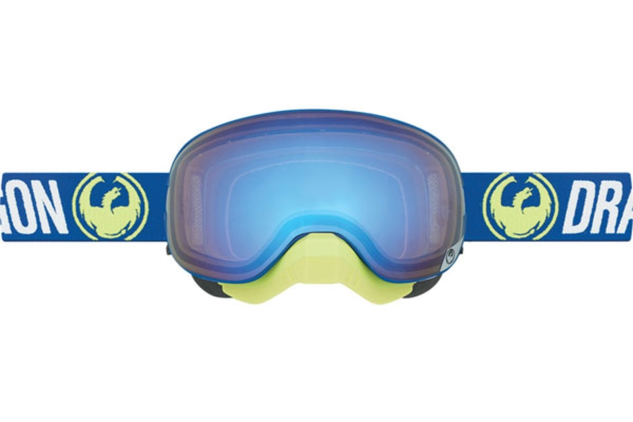 Dragon MX X2 Goggles in Flash Blue / Yeallow Blue Ion + Orange