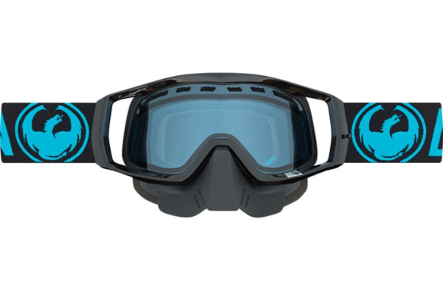 Dragon MX VENDETTA - Continued II Goggles in Snow Blue / Blue (Size :- Medium Fit)