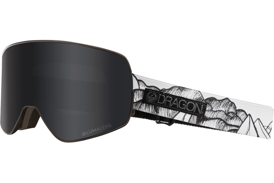 Dragon NFX2 Continued Goggles in Chris Benchetler Signature W/ Dark Smoke & Red Ion