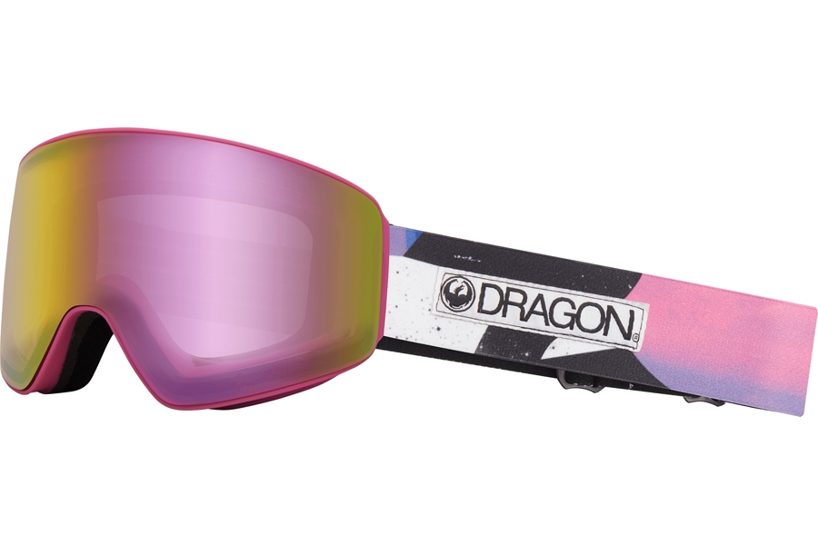 Dragon PXV WITH BONUS LENS Goggles in Tropic W/ Pink Ion & Dark Smoke