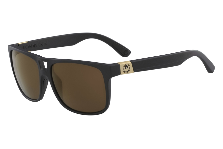 Dragon ROADBLOCK Sunglasses in Matte Black Copper