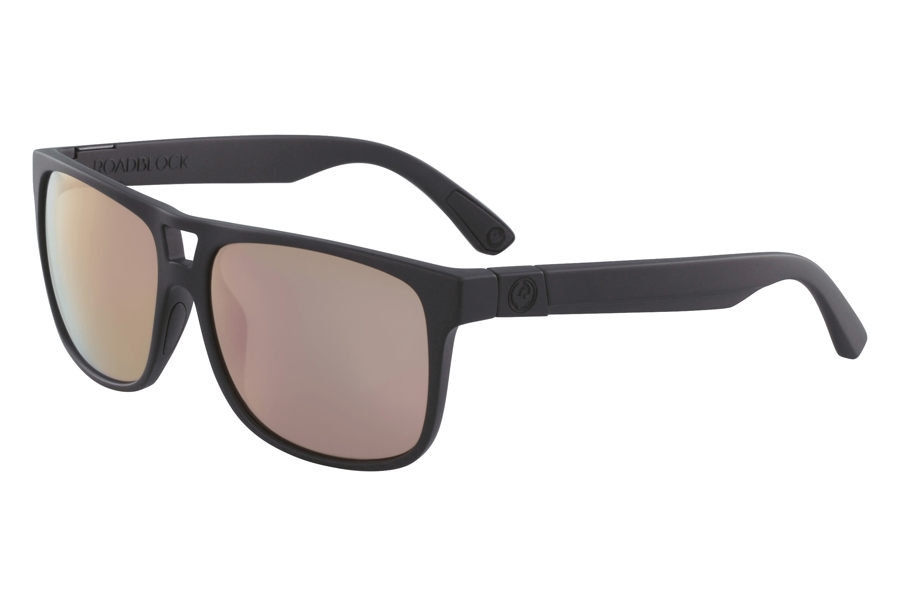 Dragon ROADBLOCK Sunglasses in Matte Black Rose Gold