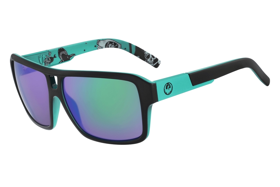 Dragon THE JAM ION Sunglasses in Jet Teal Green Ion