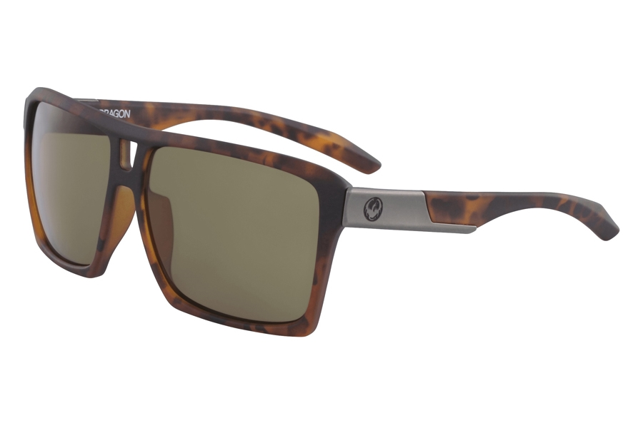 Dragon THE VERSE Sunglasses in Matte Tortoise Bronze