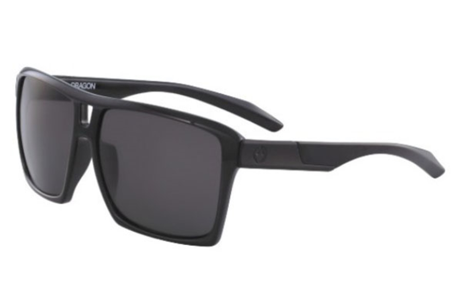 Dragon DR THE VERSE POLAR Sunglasses in 001 Shiny Black With Grey Polarized Lens