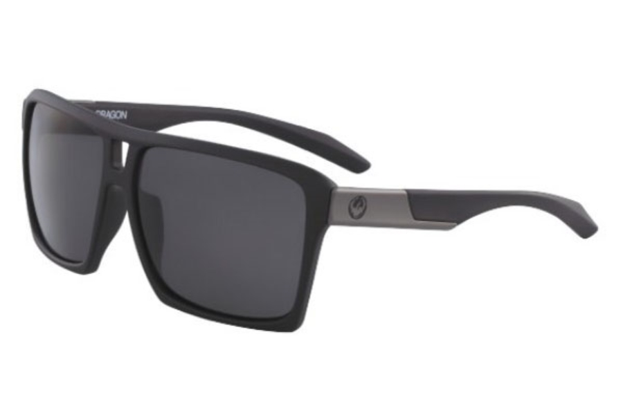 Dragon DR THE VERSE Sunglasses in 002 Matte Black With Grey Lens