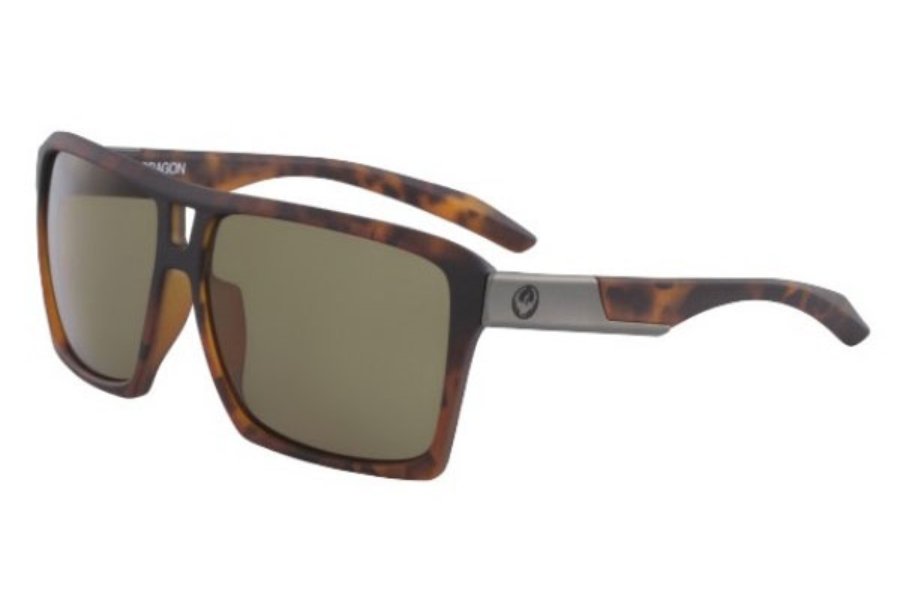 Dragon DR THE VERSE Sunglasses in 244 Matte Tortoise With Bronze Lens