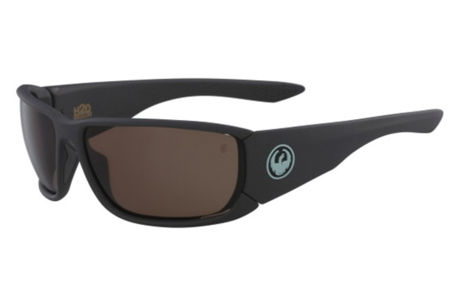 Dragon DR TOW IN H2O Sunglasses in 035 Matte Shadow/Copper