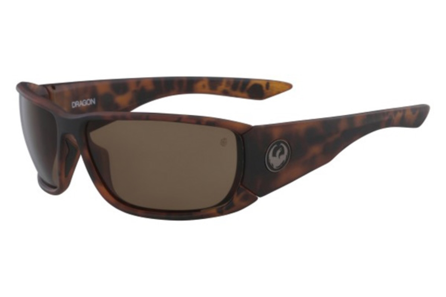 Dragon DR TOW IN POLAR Sunglasses in 244 Matte Tortoise/Bronze