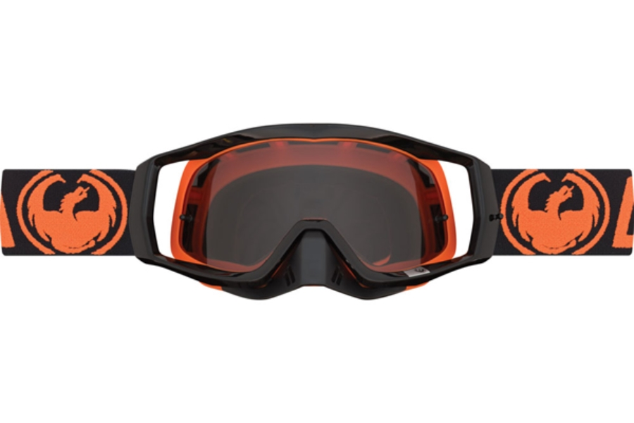 Dragon VENDETTA Goggles in 001 Orange / Smoke