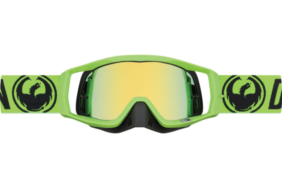 Dragon VENDETTA - Continued Goggles in 003 Break Green / Smoke Gold (Size :- Medium Fit)