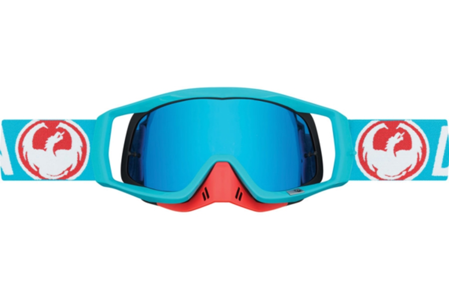 Dragon VENDETTA - Continued Goggles in 004 Flash Blue / Blue Steel (Size :- Medium Fit)