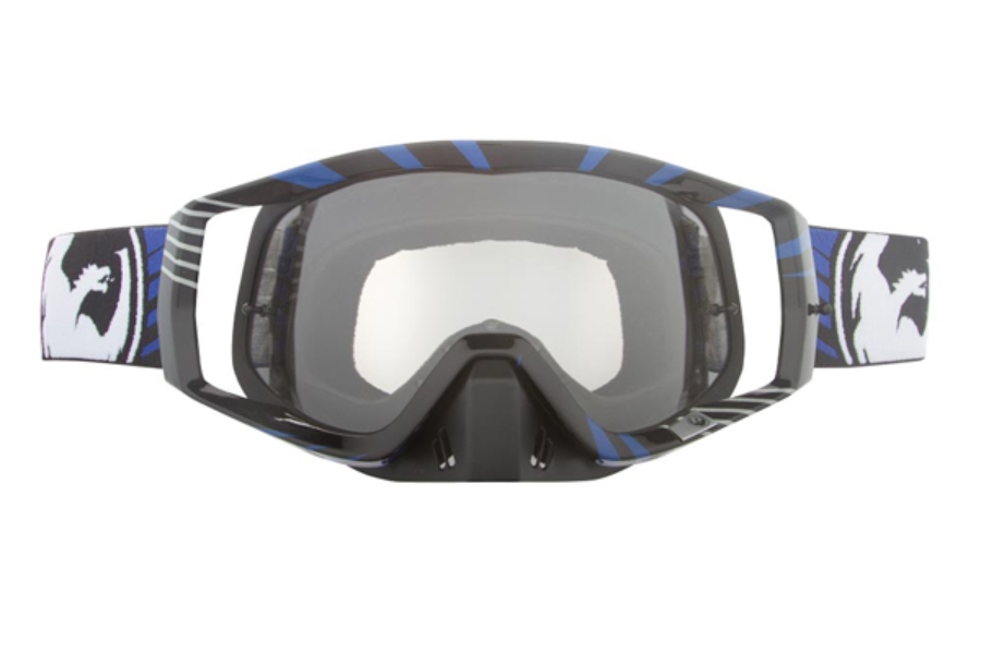 Dragon VENDETTA Goggles in 014 Vox Blue / Clear (Size :- Large Fit)