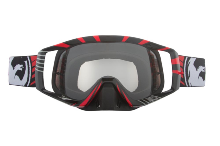 Dragon VENDETTA Goggles in 015 Vox Red / Clear (Size :- Large Fit)