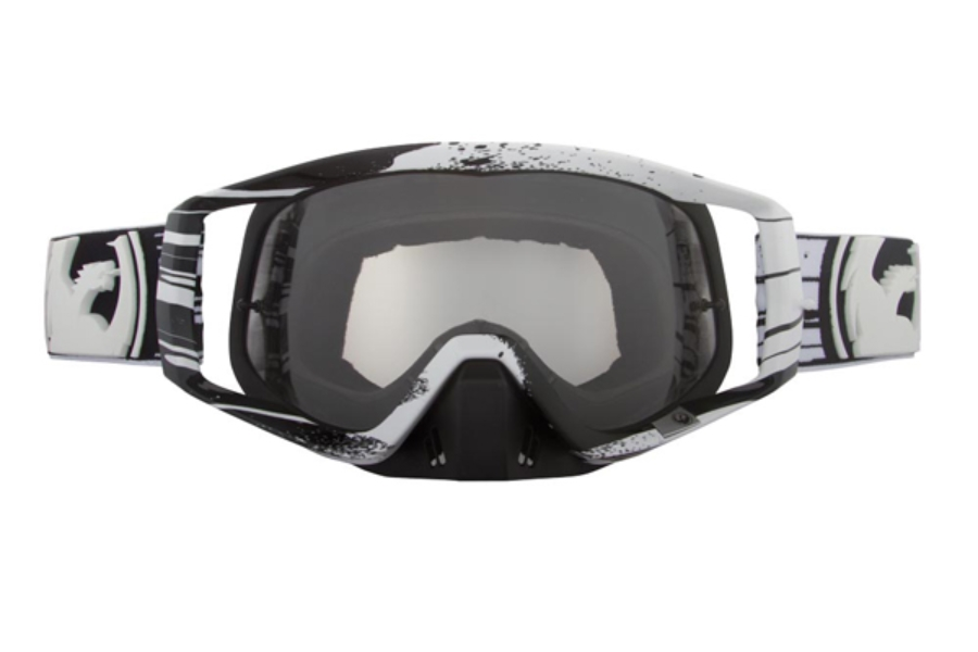 Dragon VENDETTA Goggles in 018 Paint Drip Black / Clear (Size :- Large Fit)