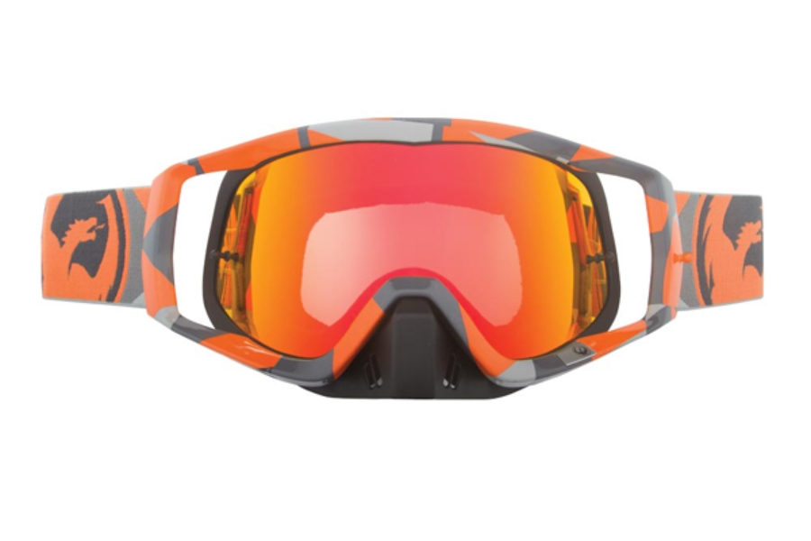 Dragon VENDETTA - Continued Goggles in 019 Flair Orange / Red ION (Size :- Large Fit)