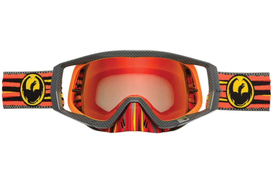 Dragon VENDETTA - Continued Goggles in 029 Hoax / Red ION (Size :- Large Fit)