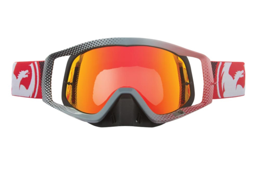 Dragon VENDETTA - Continued II Goggles in 033 Fade Red / Red ION (Size :- Large Fit)