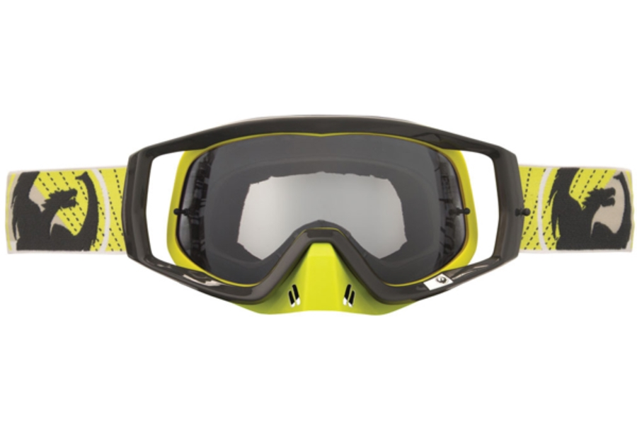 Dragon VENDETTA Goggles in 037 Snow Propeller / Clear (Size :- Medum Fit)