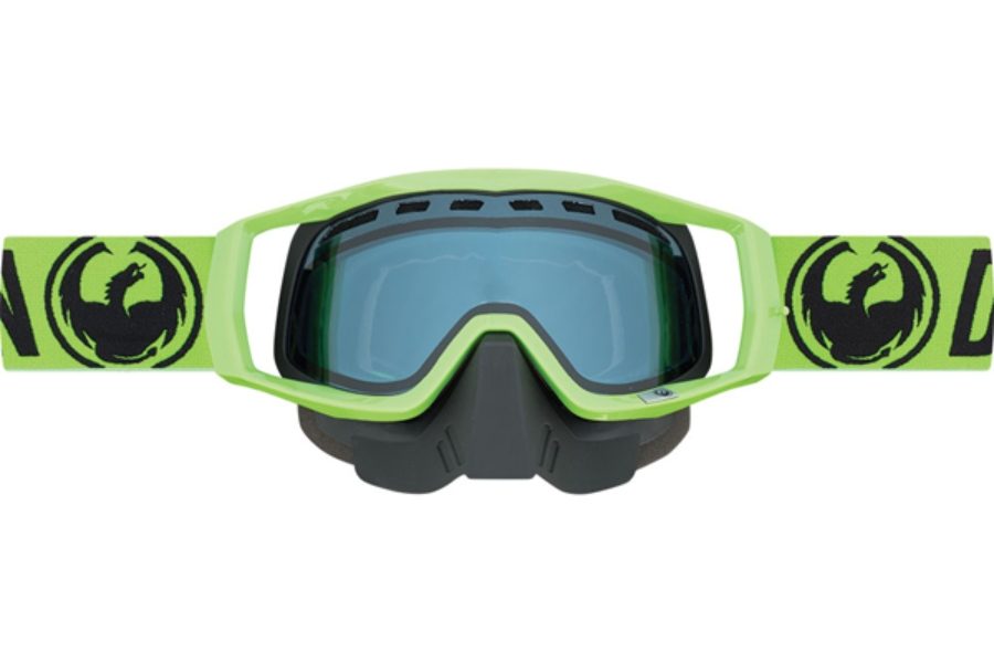 Dragon VENDETTA Goggles in 038 Snow Break Green / Blue (Size :- Medium Fit)