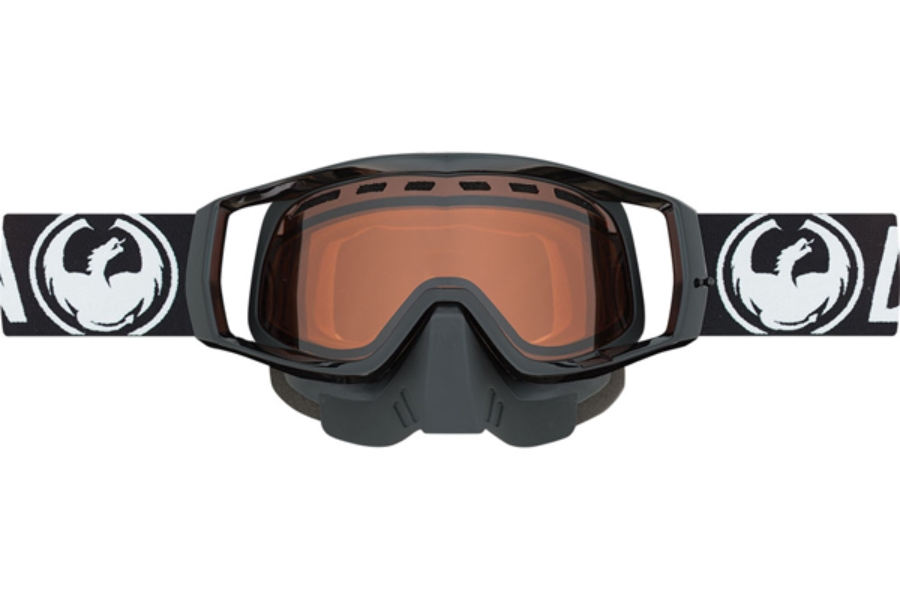 Dragon VENDETTA - Continued Goggles in 042 Coal / Amber (Size :- Medium Fit)