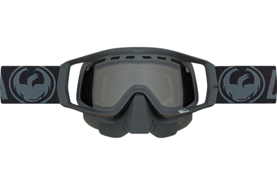 Dragon VENDETTA - Continued Goggles in 043 Snow Black / Smoke (Size :- Medium Fit)