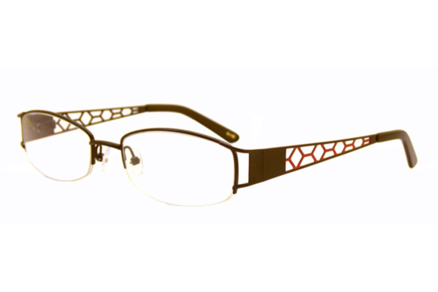 Native Visions Dream Catcher Eyeglasses in Brown/Teal