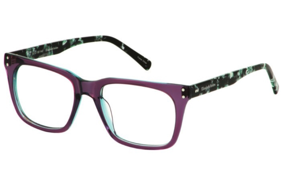 Elizabeth Arden EA 1195 Eyeglasses in Purple-Crystal