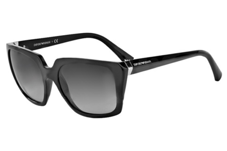 Emporio Armani EA4026 Sunglasses in 50178G Black Grey Gradient