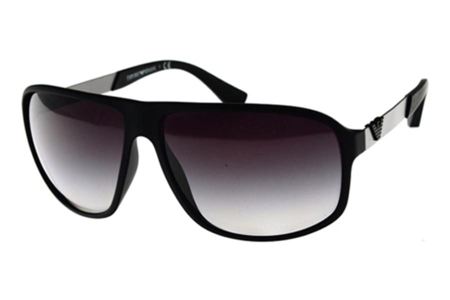 e387175c95a ... Emporio Armani EA4029 Sunglasses in Emporio Armani EA4029 Sunglasses  Emporio  Armani EA4029 Sunglasses in 50638G Black Rubber Grey Gradient ...