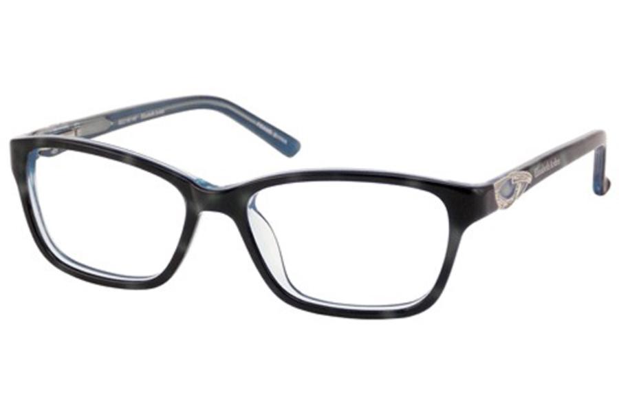 7223fc629b5 ... Elizabeth Arden EA 1149 Eyeglasses in Black Blue ...
