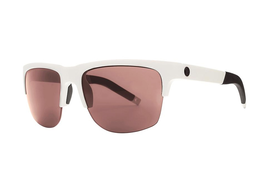 Electric Knoxville Pro Sunglasses in EE16166784 Matte White w/Rose Pro