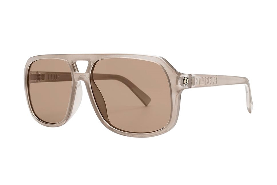 Electric Dude Sunglasses in EE16765719 Gloss Ash w/Light Bronze