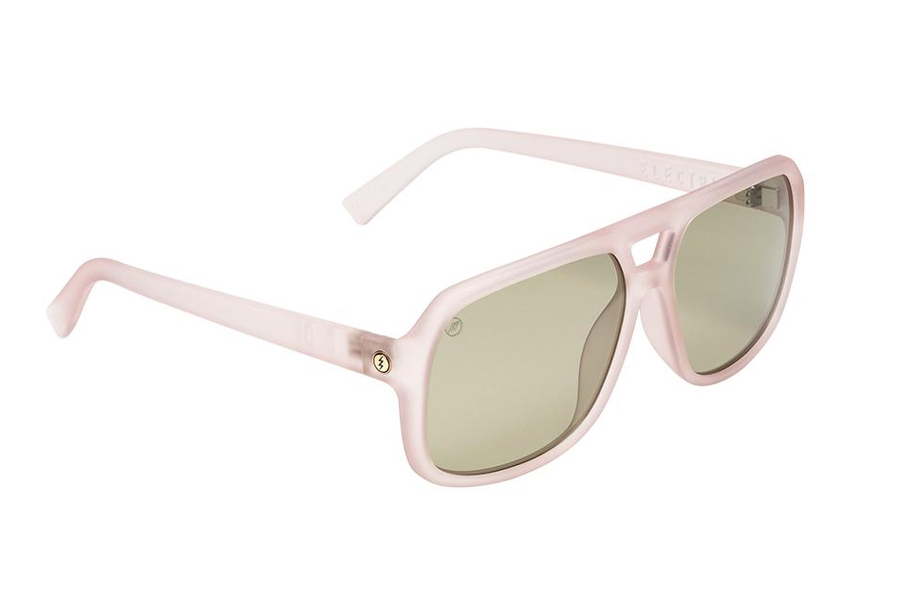 Electric Dude Sunglasses in EE16765818 Matte Pink w/Vintage Green