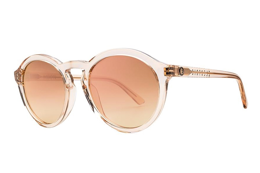 Electric Moon Sunglasses in EE17863930 Nude Crystal w/Champange Chrome Gradient