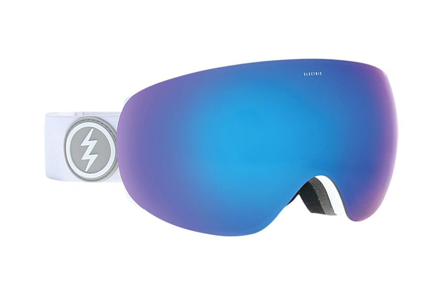 Electric EG3.5 Goggle Continued III Goggles in EG1518103 Matte White w/Brose/Blue Chrome
