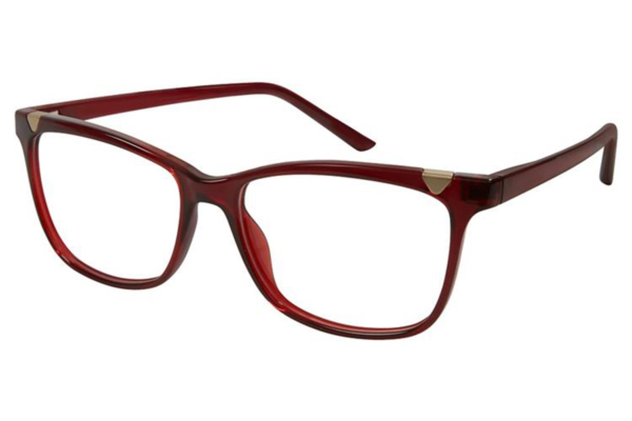 ELLE EL 13425 Eyeglasses in Red