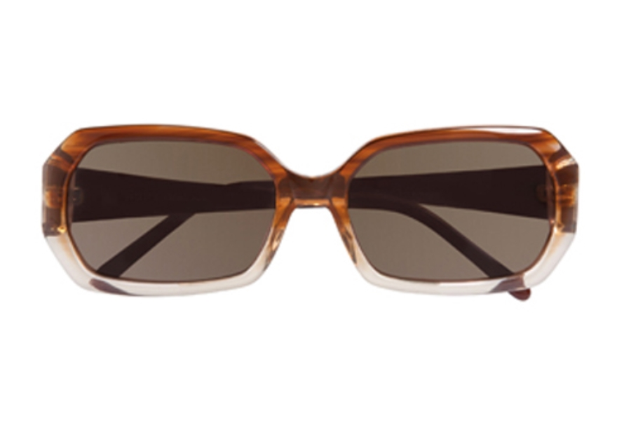 Ellen Tracy Kenya Sunglasses in Brown Fade