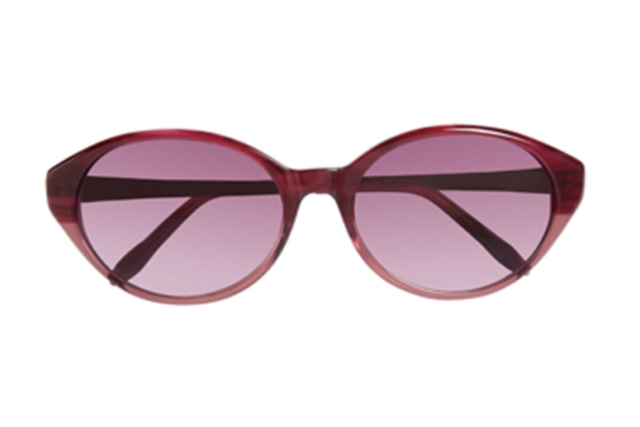 Ellen Tracy Saranda Sunglasses in Berry Fade