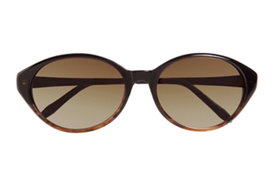 Ellen Tracy Saranda Sunglasses in Black Brown Fade