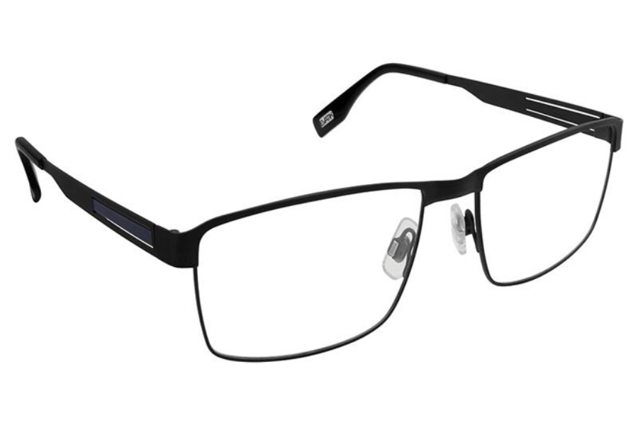 Evatik EVATIK 9176 Eyeglasses in 976 Black Blue