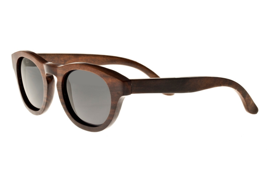Earth Cocoa Sunglasses in 027E Espresso/Black