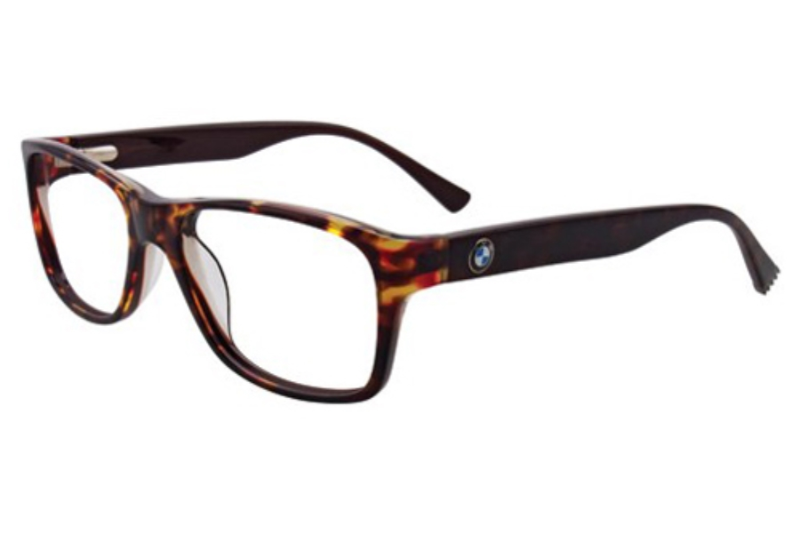 BMW B6015 Eyeglasses in 15 Marbled Grey And Caramel