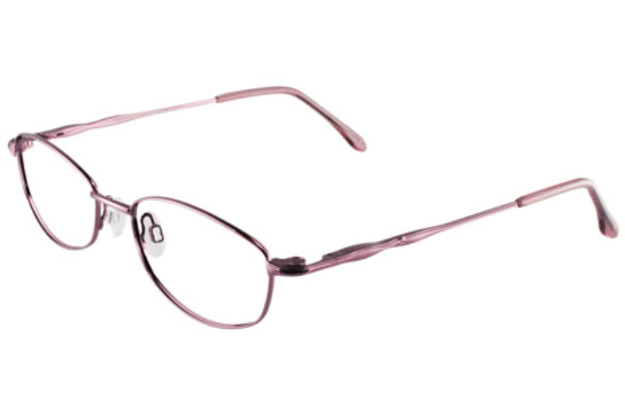 Cool Clip CC 820 Eyeglasses in 80 Shiny Light Pink