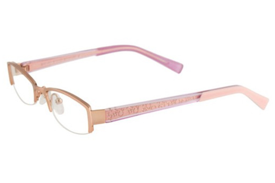 EasyLook EC143 Eyeglasses in 80 LIGHT PINK/CLEAR,LGT PINK