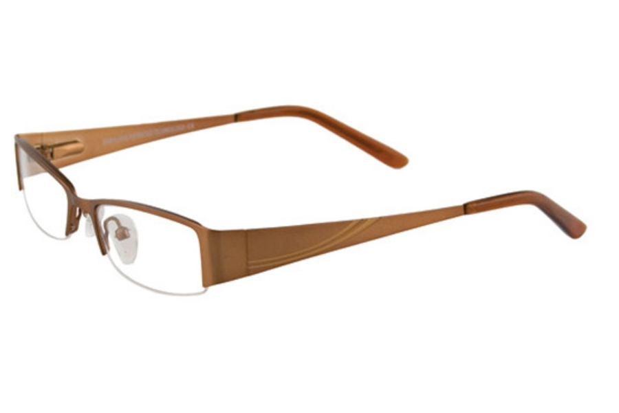 EasyLook EC198 Eyeglasses in 10 BRONZE & LIGHT BROWN